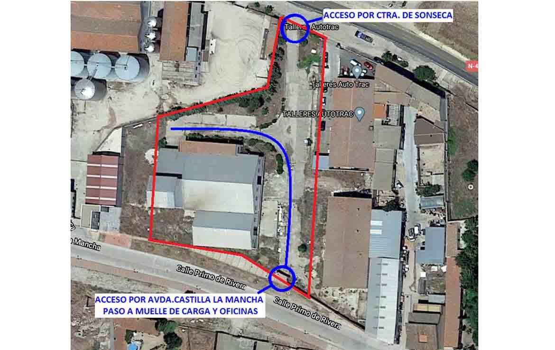 Arias venta de solar financiado Orgaz Toledo
