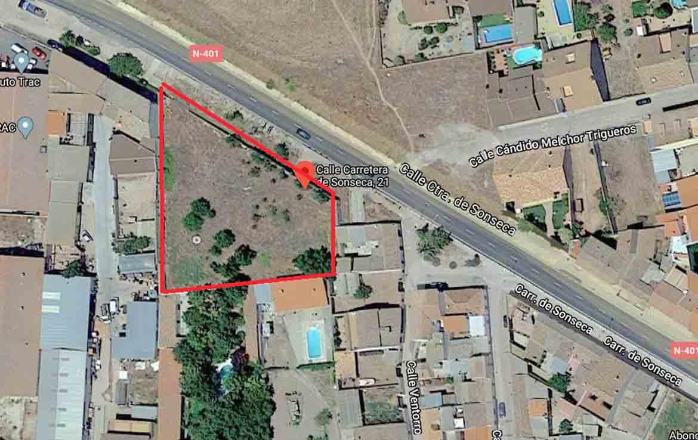 Villarrosana comprar parcela en oferta Orgaz Toledo