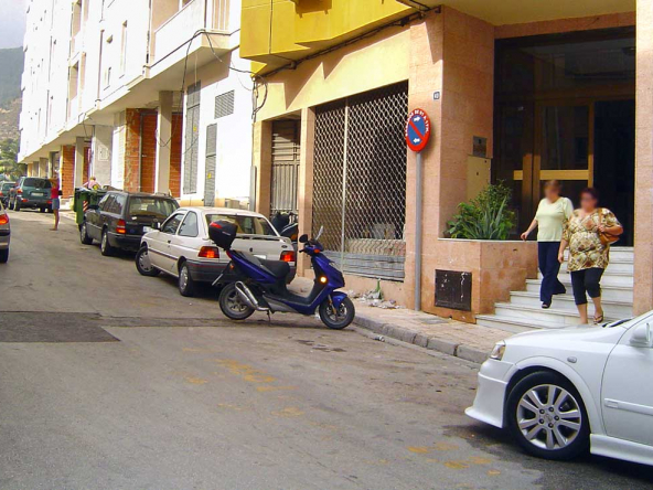 Imagen de Local u oficina en venta en Avenida Norte 40 Calpe, Alicante. Vista exterior: Fachada y vista de la calle.